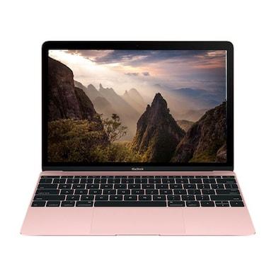 Apple MacBook MMGL2HN/A 12 Inch Laptop (Core M3/8GB/256GB/Mac OS X El Capitan) Rose Gold Price in India