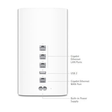 Apple ME177HN/A AirPort Time Capsule White Price in India