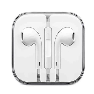 Apple Original OEM Earpods Wired Gaming Headset With Mic White Price in India