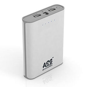 ARB AA4 Power Bank with Samsung / LG Cells 10400 mAh White