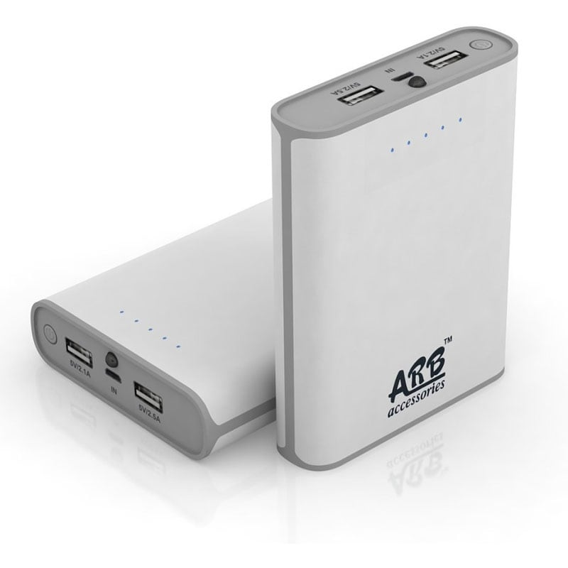 Buy ARB AA4 Power Bank with Samsung / LG Cells 10400 mAh White online
