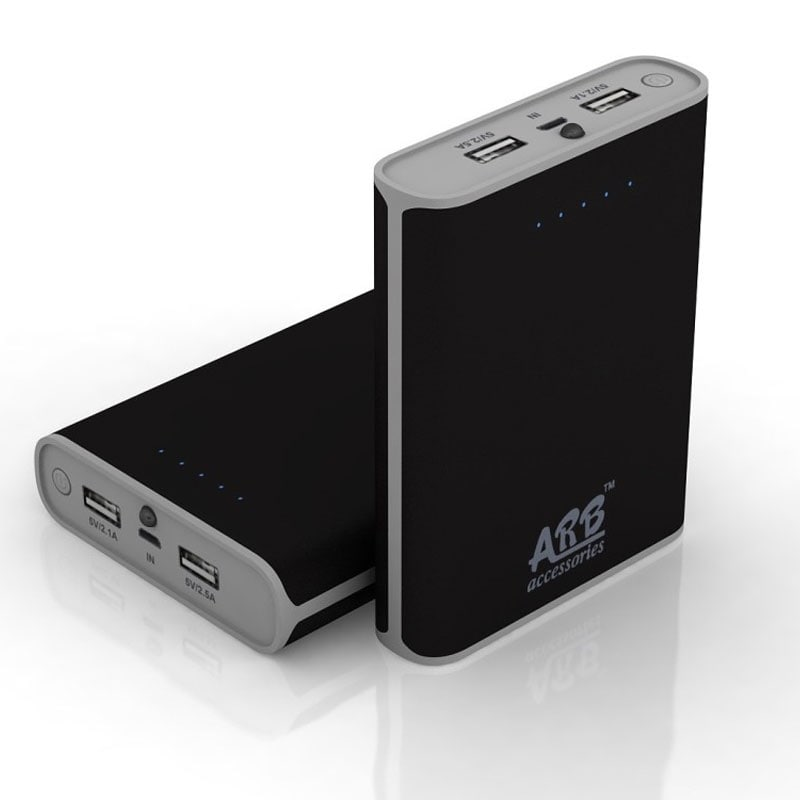 Buy ARB AA4 Power Bank with Samsung / LG Cells 10400 mAh Black online