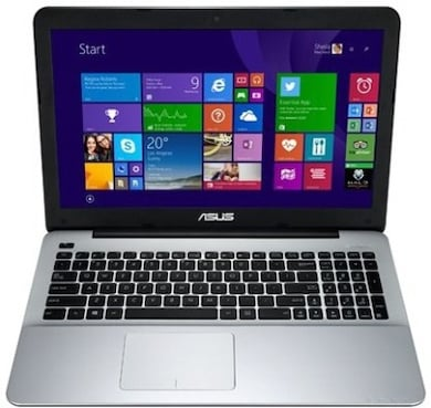 Asus A555LA-XX2064T 15.6 Inch Laptop (Core i3 5th Gen/4GB/1TB/Win 10) Matte Silver Price in India