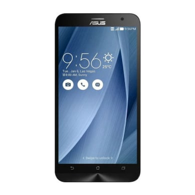 UNBOXED Asus Zenfone 2 With 4 GB RAM (Silver, 4GB RAM, 16GB) Price in India