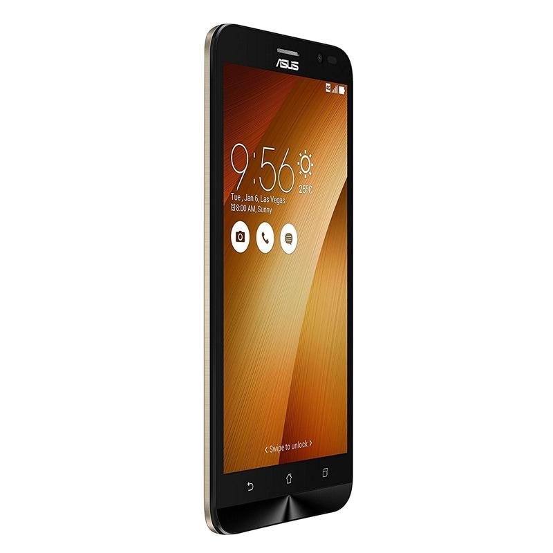 Buy Asus Zenfone Go Series 5.5 LTE Gold, 32 GB online