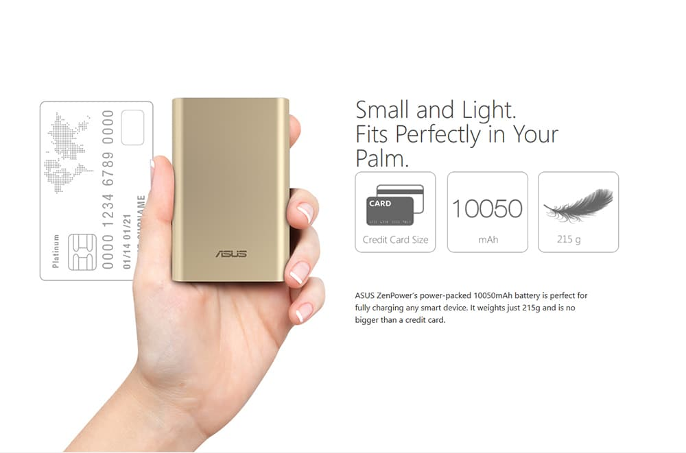 ASUS ZenPower 10050 mAh Power Bank Photo 5