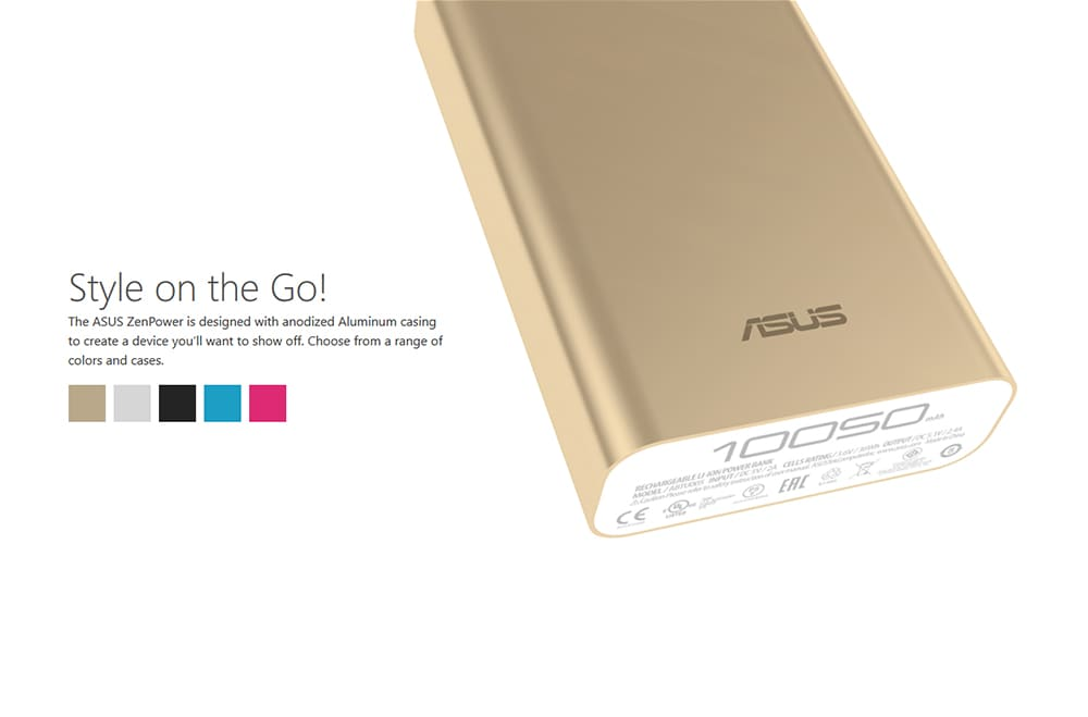 ASUS ZenPower 10050 mAh Power Bank Photo 9