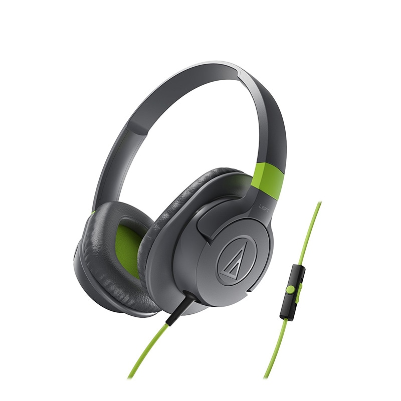 audio technica ath ax1isbk over the ear headset with mic grey price in india buy audio. Black Bedroom Furniture Sets. Home Design Ideas