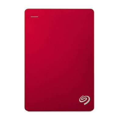 Seagate Backup Plus 4 TB Portable External Hard Drive Red Price in India
