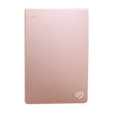 Seagate Backup Plus Slim 2 TB Portable External Hard Drive with 200GB of Cloud Storage (Rose Gold, Mobile Backup Enabled) Price in India