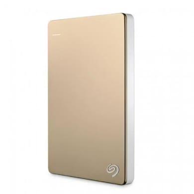 Seagate Backup Plus Slim 2 TP Portable Hard Drive Gold Price in India