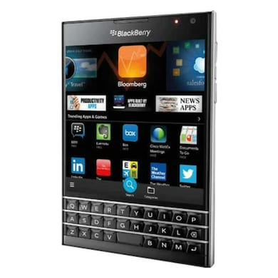 IMPORTED BlackBerry Passport (Black, 3GB RAM, 32GB) Price in India