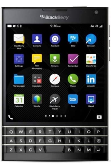 BlackBerry Passport (Black, 3GB RAM, 32GB) Price in India