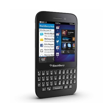 IMPORTED BlackBerry Q5 Black,8 GB images, Buy IMPORTED BlackBerry Q5 Black,8 GB online at price Rs. 5,952