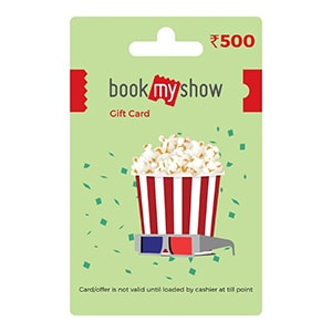 Buy Book My Show Gift Card Online