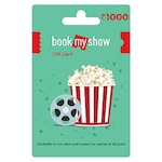 Buy Book My Show Gift Card Rs 1000 Online
