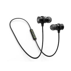 Brainwavz BLU-100 Bluetooth Headsets Black Price in India