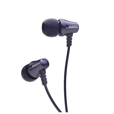 Brainwavz Jive In The Ear Headphone Remote & Mic Blue Price in India