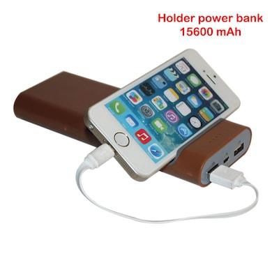 Callmate 15600 mAh Power Bank Brown Price in India