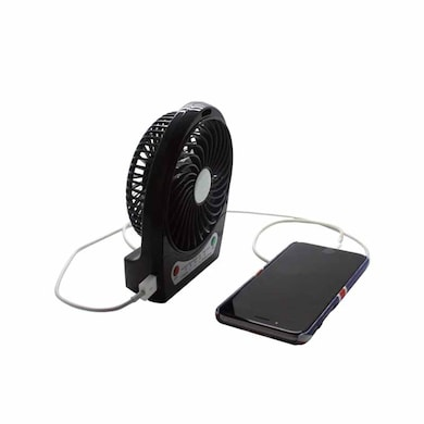 Callmate 2600 mAh Power Bank with Mini Fan Black Price in India