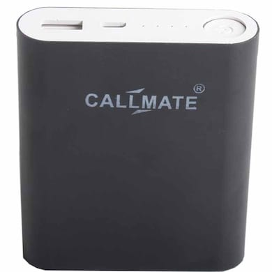 Callmate Alloy 10400 mAh Power Bank Black Price in India