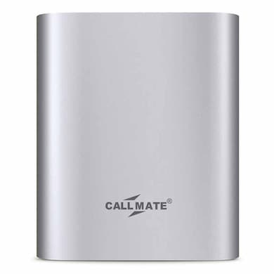 Callmate Alloy 10400 mAh Power Bank Silver Price in India