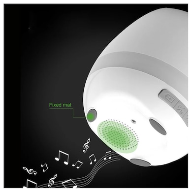 Callmate Bluetooth LED Smart Music Flowerpot Speaker White Price in India