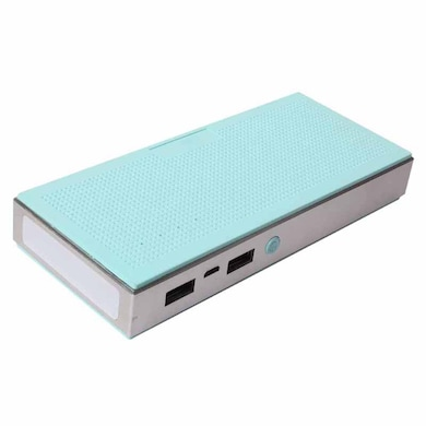 Callmate Music Box Metal 13000 mAh Power Bank Sky Blue Price in India