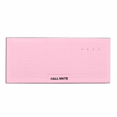 Callmate Music Box Metal 13000 mAh Power Bank Pink Price in India