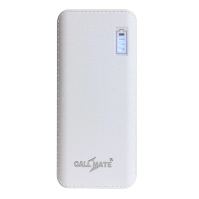 Callmate R5 11000 mAh Power Bank Dual USB White Price in India