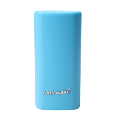 Callmate Round Candy 5200 mAh Power Bank Blue Price in India