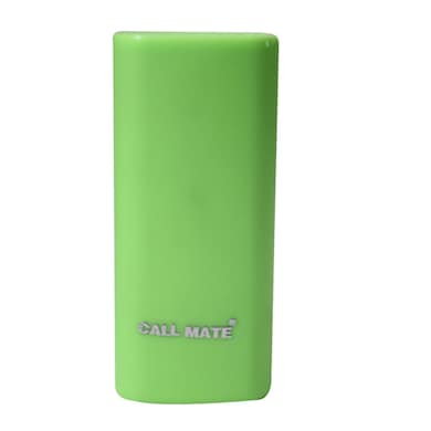 Callmate Round Candy 5200 mAh Power Bank Green Price in India