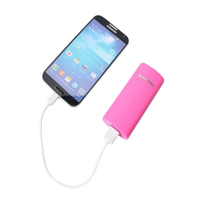 Callmate Round Candy 5200 mAh Power Bank Pink Price in India