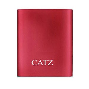 Catz PBCZ4 Power Bank 10400 mAh Red