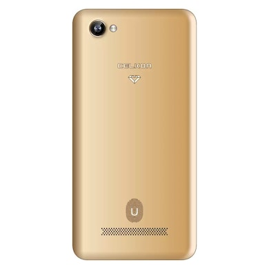 Celkon Diamond U 4G VoLTE (2GB RAM, 16 GB) Gold images, Buy Celkon Diamond U 4G VoLTE (2GB RAM, 16 GB) Gold online