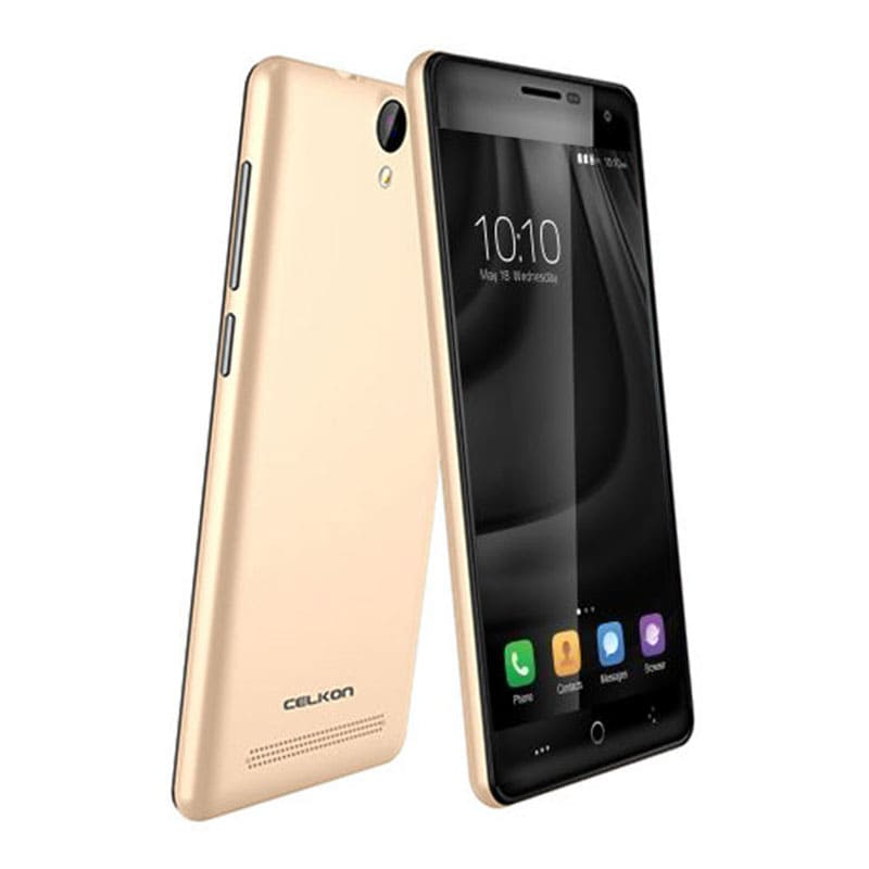 Celkon Millennia Q599 Ufeel Golden, 8GB images, Buy Celkon Millennia Q599 Ufeel Golden, 8GB online