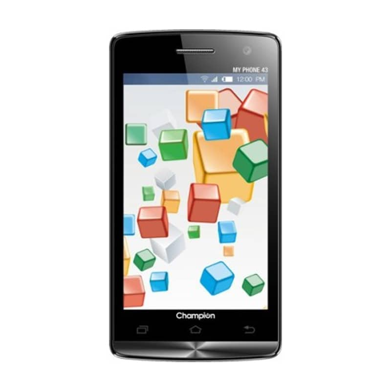 Champion My Phone 43 Smartphone (4 GB, Black) images, Buy Champion My Phone 43 Smartphone (4 GB, Black) online at price Rs. 2,299