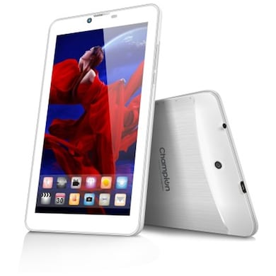 Champion Wtab 709 Wifi + 3G Calling Tablet White, 8 GB Price in India