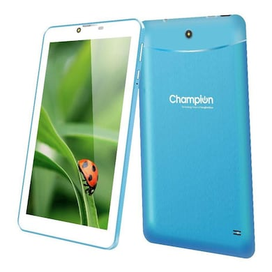 Champion Wtab 709 Wifi + 3G Calling Tablet Blue, 8 GB Price in India