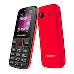 Buy Champion X2 Sleek Plus Dual Sim Red Online