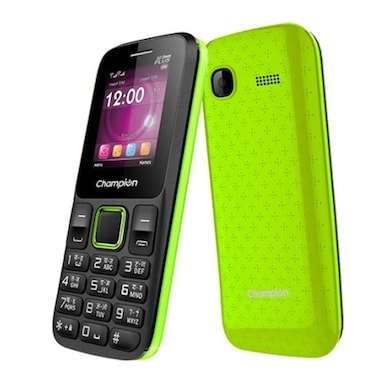 Champion X2 Sleek Plus Dual Sim (Green) Price in India