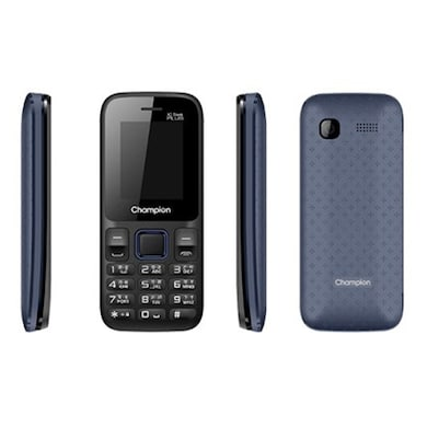 Champion X2 Sleek Plus Dual Sim (Blue) Price in India