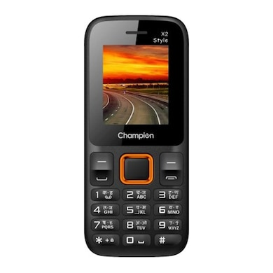 Champion X2 Style With 2.9 Inch Display, 1.3 MP Camera, GPRS, FM Radio (Orange, 5MB RAM, 256MB) Price in India