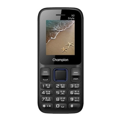 Champion X2 Style With 2.9 Inch Display, 1.3 MP Camera, GPRS, FM Radio (Blue, 5MB RAM, 256MB) Price in India