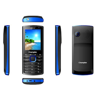 Champion Y6 Dabang Feature Phone (Blue, 32MB RAM, 32MB) Price in India