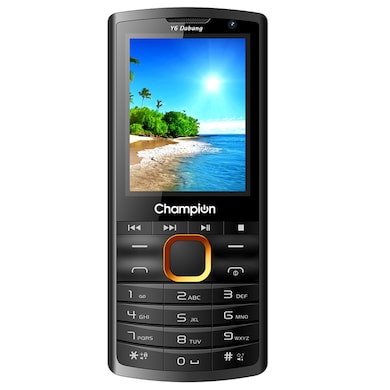 Champion Y6 Dabang Feature Phone (Orange, 32MB RAM, 32MB) Price in India