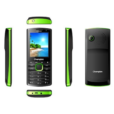 Champion Y6 Dabang Feature Phone (Green, 32MB RAM, 32MB) Price in India