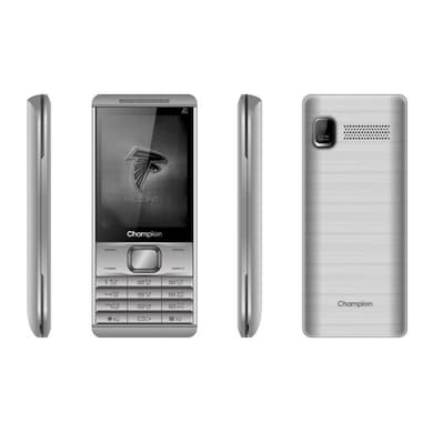 Champion Z1 Star, 2.4 Inch Display,1500 mAh Battery,Camera (Silver, 10MB RAM, 8MB) Price in India