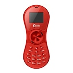 Buy Unboxed Chilli K188 Spinner Credit Card Size Mobile with Bluetooth Dialer Red Online
