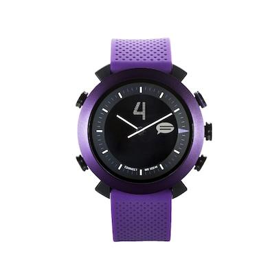 COGITO Classic Silicon Smart Watch (Purple Strap) Price in India